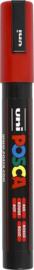 uni-ball Paint Marker op waterbasis Posca PC-5M rood