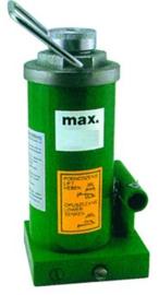 Hydraulische vijzel met één cylinder. 8000 kg tot 50000 kg diverse uitvoeringen.
