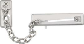 Abus deurketting - SK69 N C/DFNLI - staal vernikkeld
