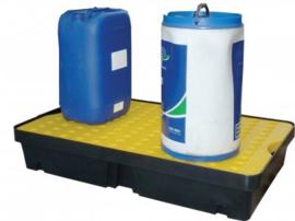Vloeistof opvangbak voor containers met een inhoud van 60 liter