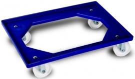 Transportframe / dolly voor kunststof kratten van 600 x 400 mm tot 250 kg