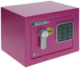 """YALE value safe """"mini"""" roze / lila"""