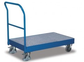 Verplaatsbare opvangbak capaciteit tot 250 kg en een inhoud van 42,5 l