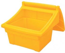 Voorraadbak voor strooizout of -zand 100 liter, 150 liter of 300 liter