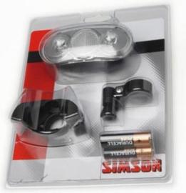 Simson Batterijkoplamp  Basta Scope met centrale Stuurhouder