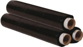 Handwikkel folie 23 mu zwart 500 mm hoog
