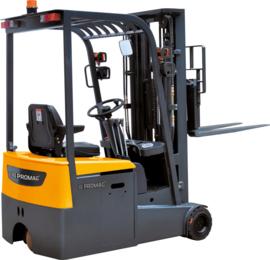 Electrische Premium 3 wielige heftruck 1500 kg en 3,0 mtr