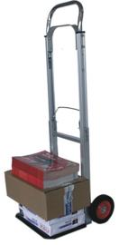 Aluminium steekwagen opklapbaar maximum 90 kg draagvermogen