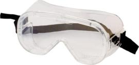 3M™ Ruimzichtbril tegen spatten, 4800C, Heldere Glazen, 1 bril