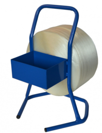 Haspel voor polyester omsnoeringsband draagbaar