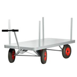 Matador Schamelwagen 2000x1000 mm tot 1000 kg Incl. trekstang v.v. luchtbanden