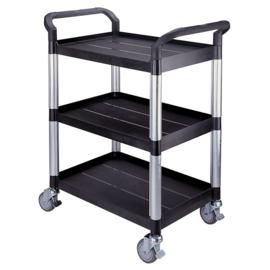 Matador Comfortabele, wendbare en stijlvolle etagewagen met PP+fiberglas, 3 plateau's