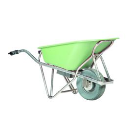 Matador Kruiwagen, 90L, kunststof groene kuip, Profimax elektrische M-E-Barrow