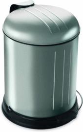 Rixx pedaalemmer soft-close 5 liter RVS