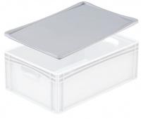 Kunststof deksel van PP-C voor container 600x400 mm