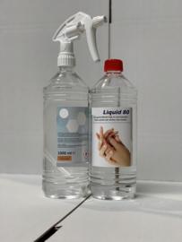 Fresh Liquid 80 desinfectie vloeistof fles 1000 ml