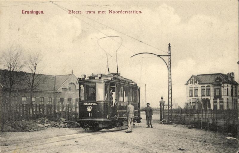Groningen op de rails
