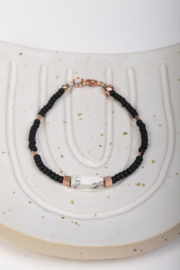 Marble black & gold