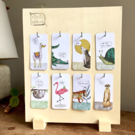 kado label display | alleen in combinatie met kado labels