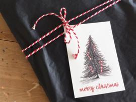 gift tag | christmas tree | per 5