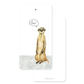 Tag meerkat 'Hoi!' - per 5