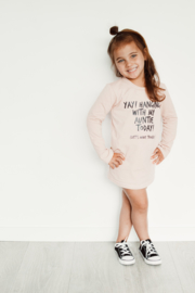 T SHIRT DRESS - HANGING WITH MY