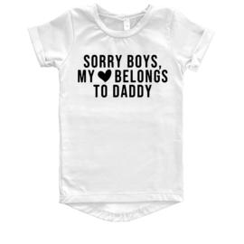 T SHIRT DRESS - SORRY BOYS
