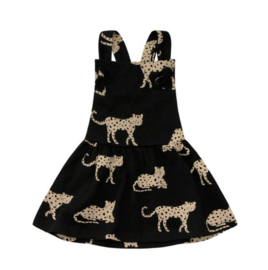 WILD CHEETAHS | DUNGAREE DRESS
