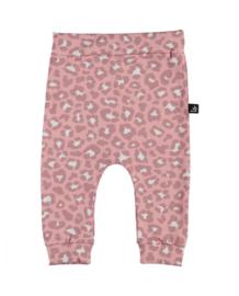 Leopard broekje (roze) (large print) BS