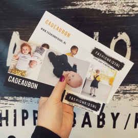 CADEAUBON €35,- FASHION KIDS NL