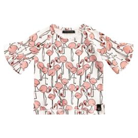 Flamingo Ruffle top