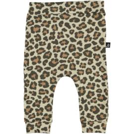 Leopard broekje (camel) (large print)  BS