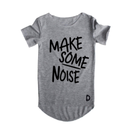 Kleine deugnieten  - Grijs t shirt make Some noise