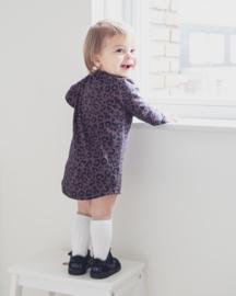 Longsleeve dress - Leopard bruin