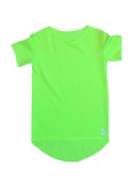 Kleine deugnieten  - Neon groen effen T-shirt
