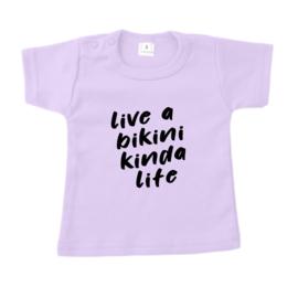 LIVE A BIKINI KINDA  - T- SHIRT - PNSP