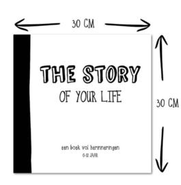 Invulboek 0-12 Jaar 'The Story of Your Life' (Nederlandse versie)