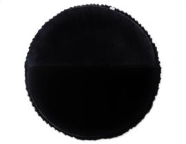 VELVET Speelmat Rond Black