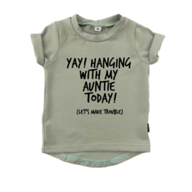 SHIRT - HANING WITH MY