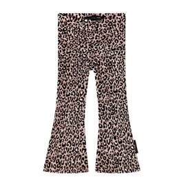 Leopard pink Flare legging