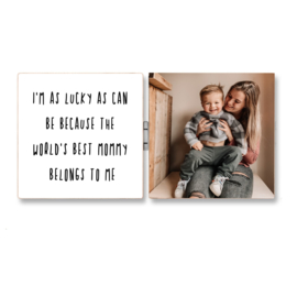 FOTO BLOK - TWEELUIK - BEST MOMMY