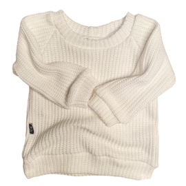 OVERSIZED SWEATER - KNIT OFFWHITE