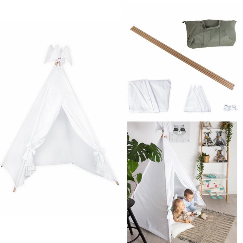 Cotton Tipi Tent Wit M
