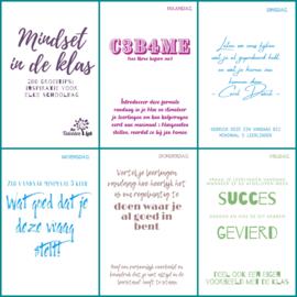 NIEUW! MINDSET IN DE KLAS - 200 groeitips: inspiratie voor elke schooldag