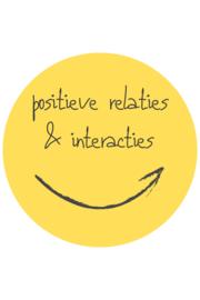 De positieve school module 4: Positieve relaties & interacties - 10 maart 2021