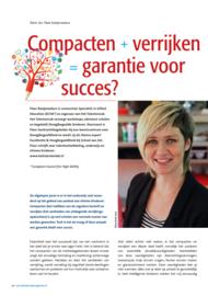 Compacten + verrijken = garantie voor succes?