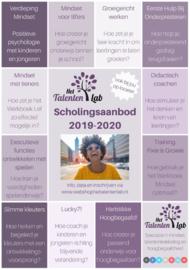 Scholingsaanbod 2019/2020