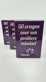 50 vragen voor een positieve mindset