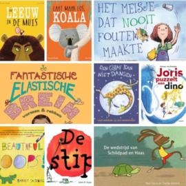 Prentenboekenpakket bij Groei in je Groep! (onderbouw)