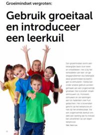 Gebruik Groeitaal en introduceer een leerkuil